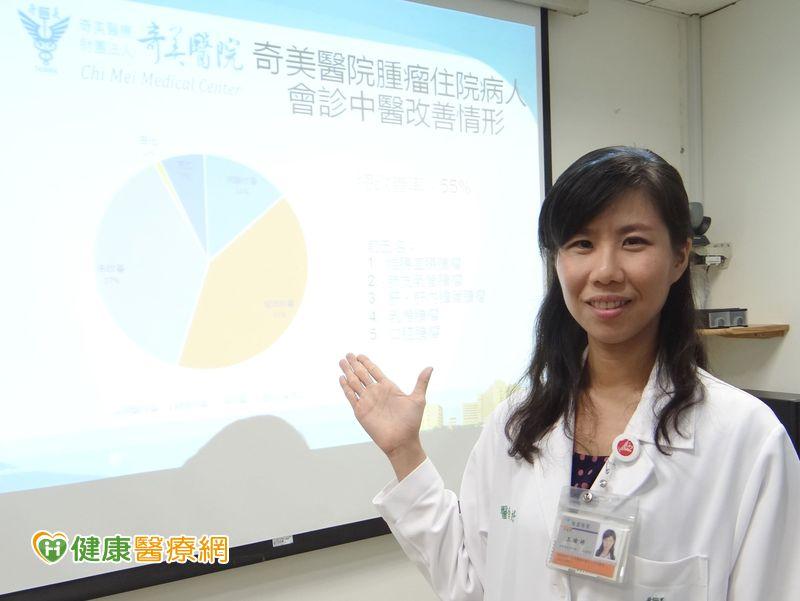 癌患化療副作用多 中醫介入有效舒緩
