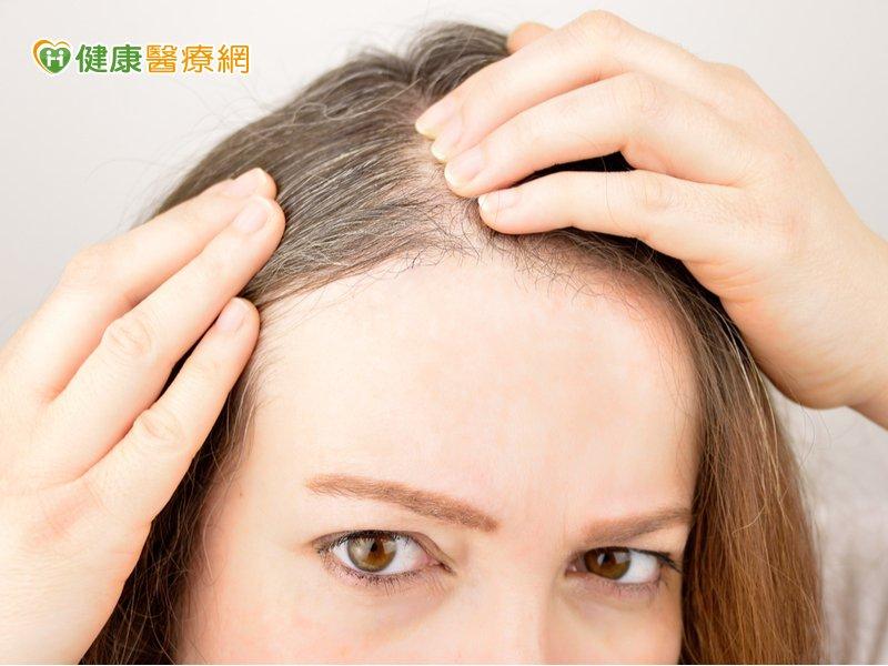 從白髮位置就能知疾病 沒想到長在這竟是身體在求救!