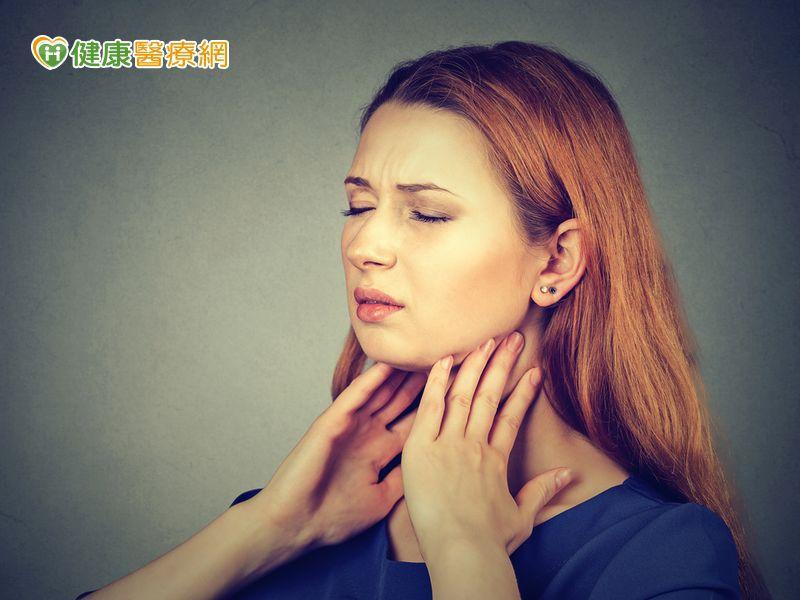 老是喉嚨痛恐扁桃腺較大 當心易睡眠呼吸中止