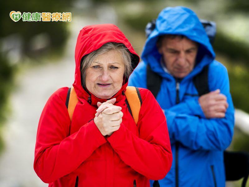 冷氣團發威! 心血管高風險族群需做好保暖