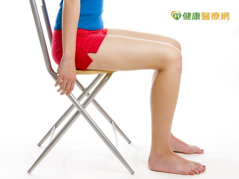 坐著也能練肌力 天天10次預防跌倒