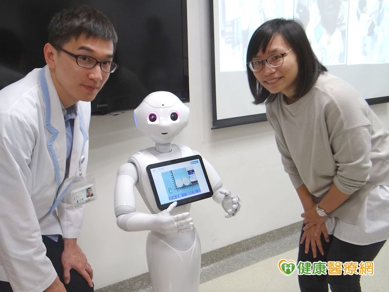 藥品衛教諮詢 Pepper機器人有一套