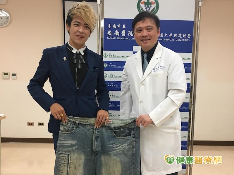 1年半甩74公斤 28歲男重拾健康人生