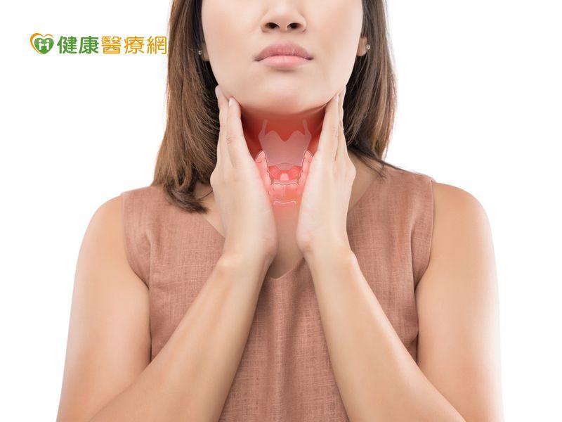 熟女右頸莫名腫痛! 小心是「急性甲狀腺炎」