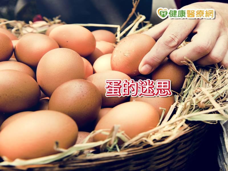 吃蛋該不該擔心膽固醇 正解在此