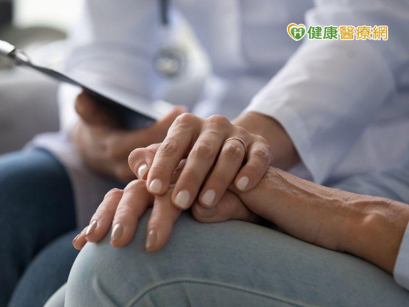 肺癌標靶藥長治久安 一腳入安寧病房挽回一命