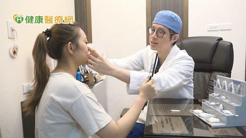 韓女星耳軟骨隆鼻口罩戴不牢! 「肋軟骨隆鼻」立體鼻樑不是夢