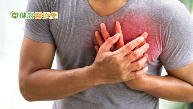輕忽血脂當「心」要命 胸悶就醫驚見90%血管堵塞