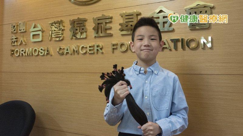 超暖心!為捐髮助癌友 田徑小選手忍蓄髮不便2年