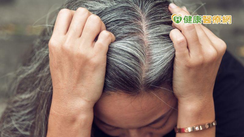 白髮增加一根根冒 科學家深究白髮產生原因,啟動復原力