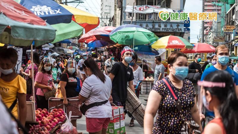 Delta變種病毒肆虐 菲律賓病例持續攀升