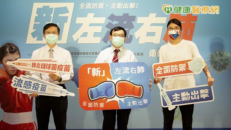 新冠流感雙夾擊 「新」左流右肺避免肺炎鏈球菌侵襲