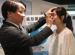 小心視力模糊 戴隱形眼鏡五大禁忌