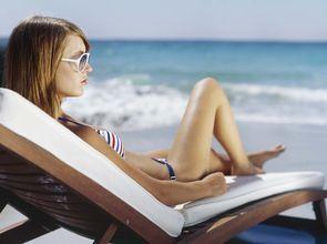 夏日海灘清涼裝 全身毛茸茸大打折扣