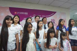 5歲女童捐長髮 助癌症病友當公主