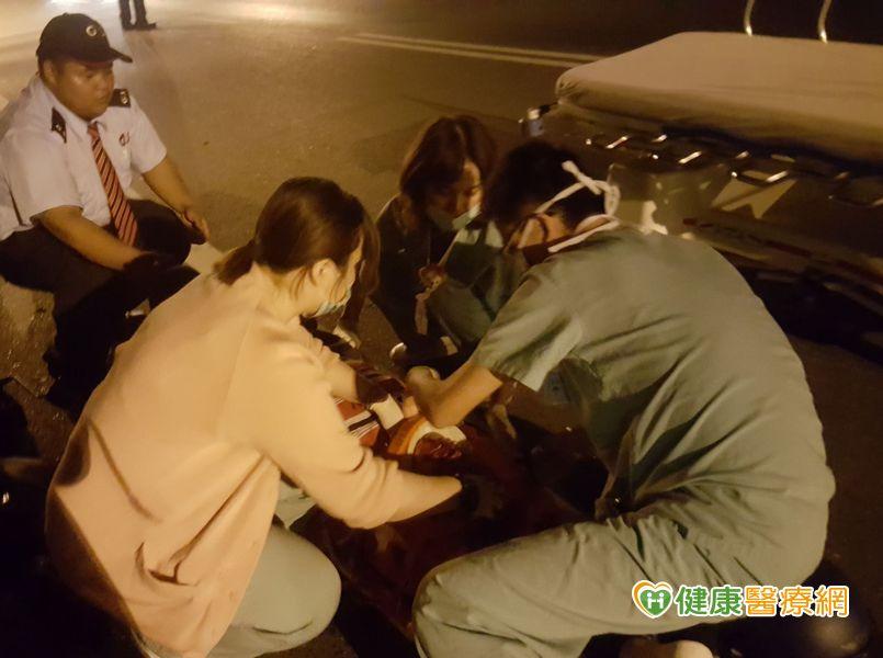 急診室3位護理師 第一時間勇救車禍病人